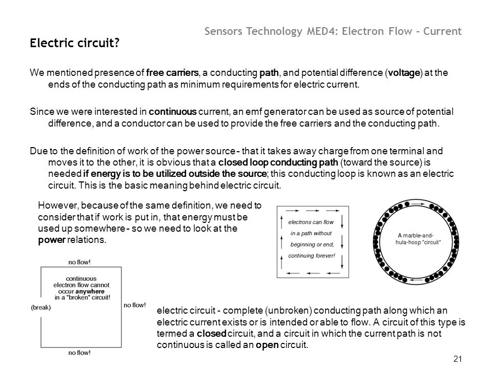 Electric current Previously we dealt with electrostatic problems ...