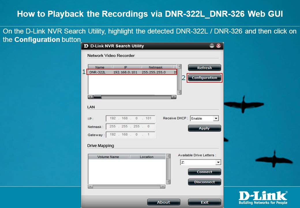 How to Playback the Recordings via DNR-322L_DNR-326 Web GUI