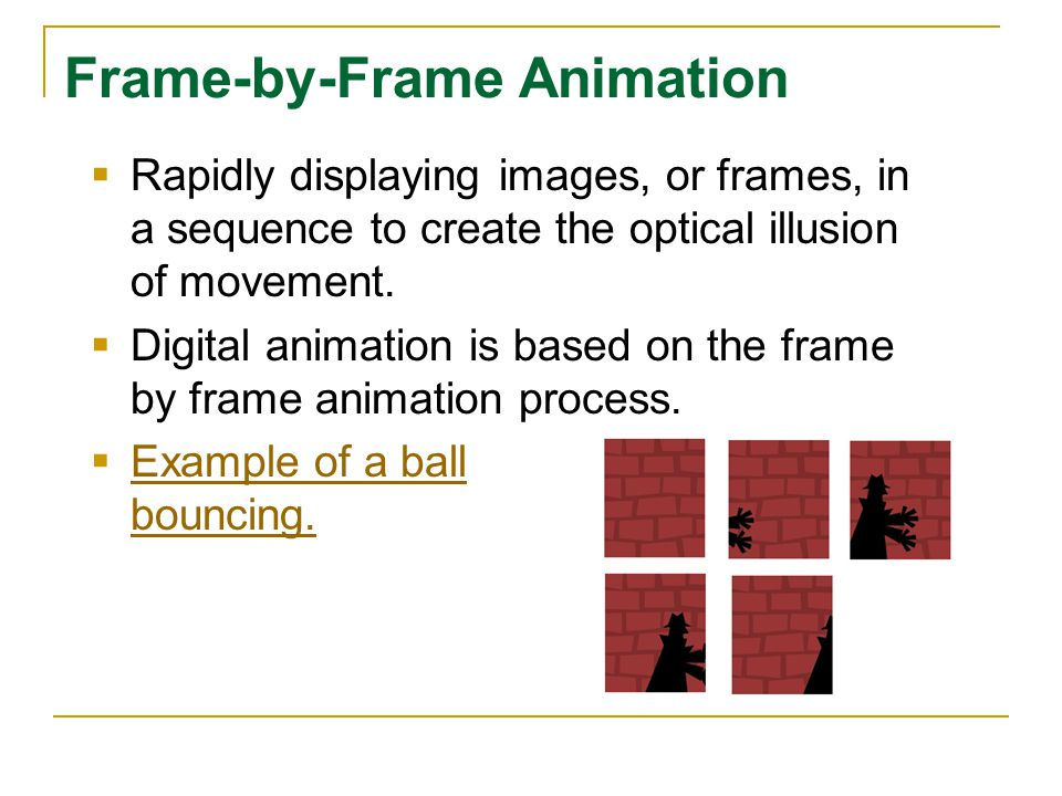 2.02A History of Animation 2.02 Develop Computer Animations. - ppt ...