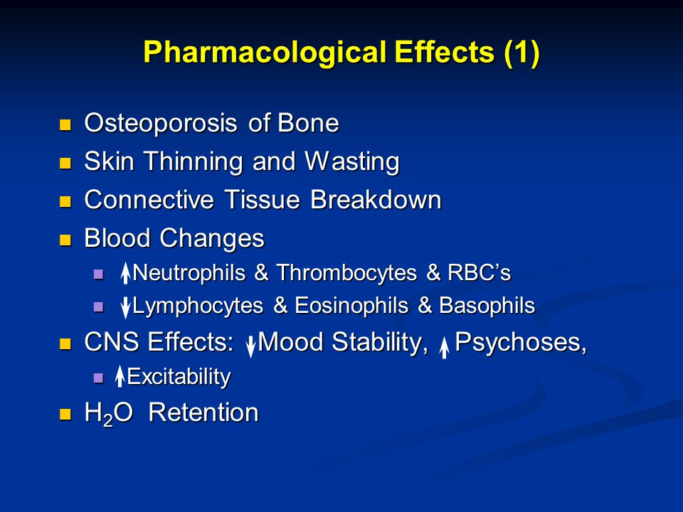 Pharmacological Effects (1)