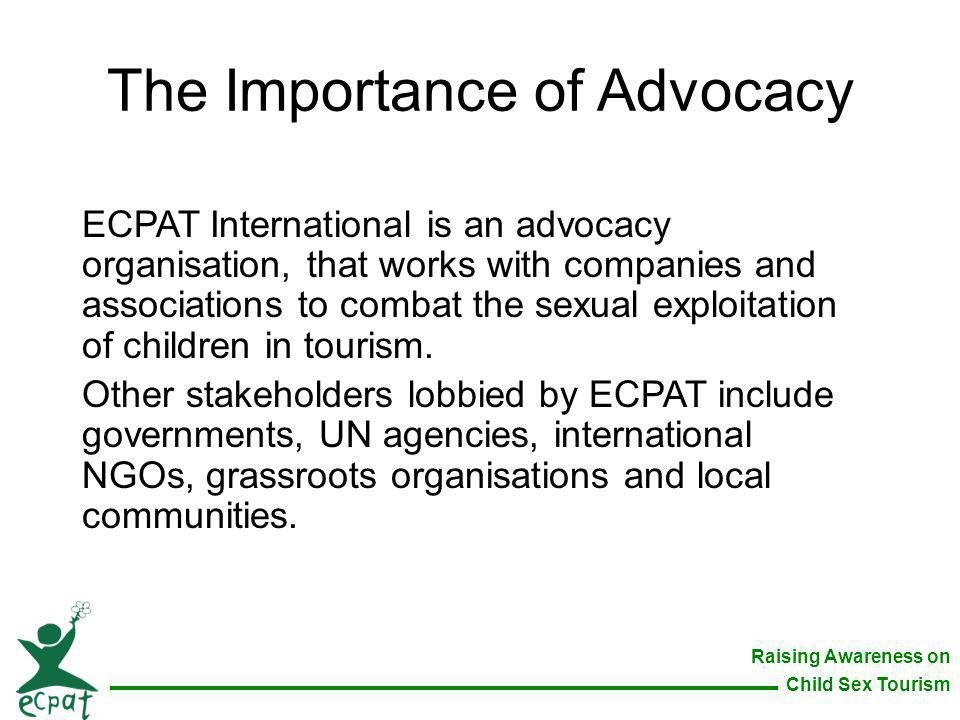 The Importance of Advocacy
