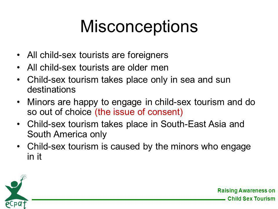 Misconceptions All child-sex tourists are foreigners