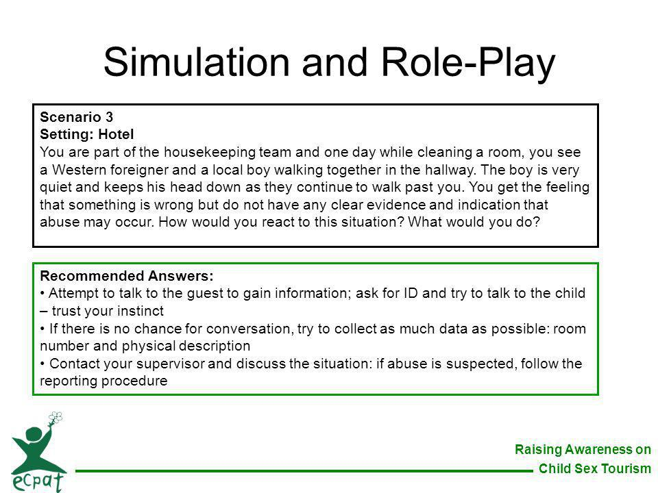 Simulation and Role-Play