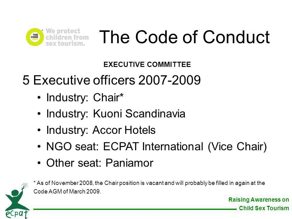 The Code of Conduct 5 Executive officers