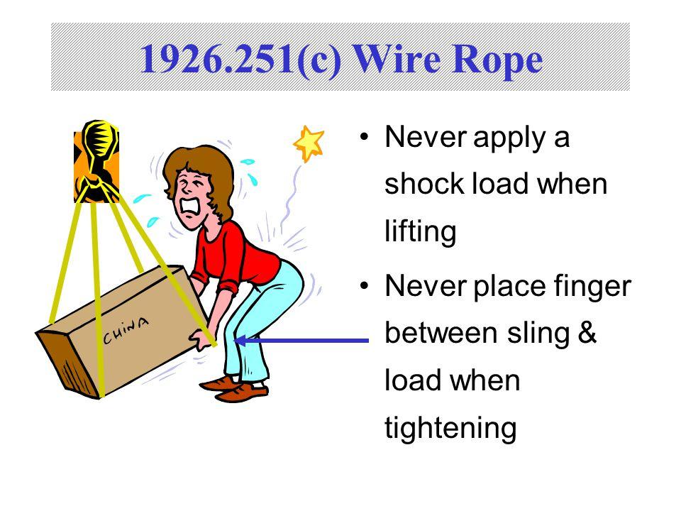 CFR Subpart H Rigging Equipment. - ppt video online download