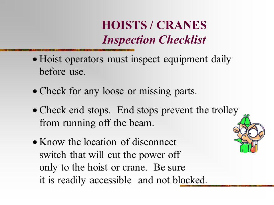 Presentation 3 - Crane Operations - ppt video online download
