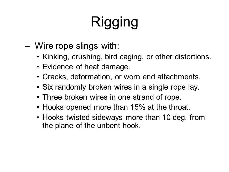 Rigging Equipment for Material Handling Your Safety is the #1 ...