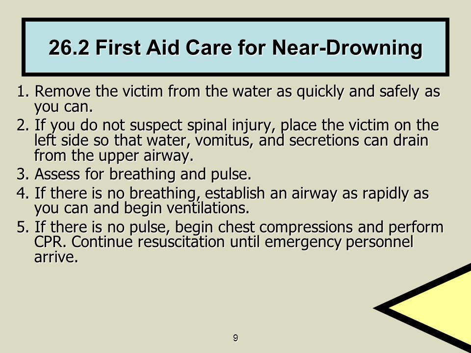 Every year drowning accounts for at least 500000 deaths worldwide including approximately 4000 fatalities in the United States Statistics for nonfatal drown