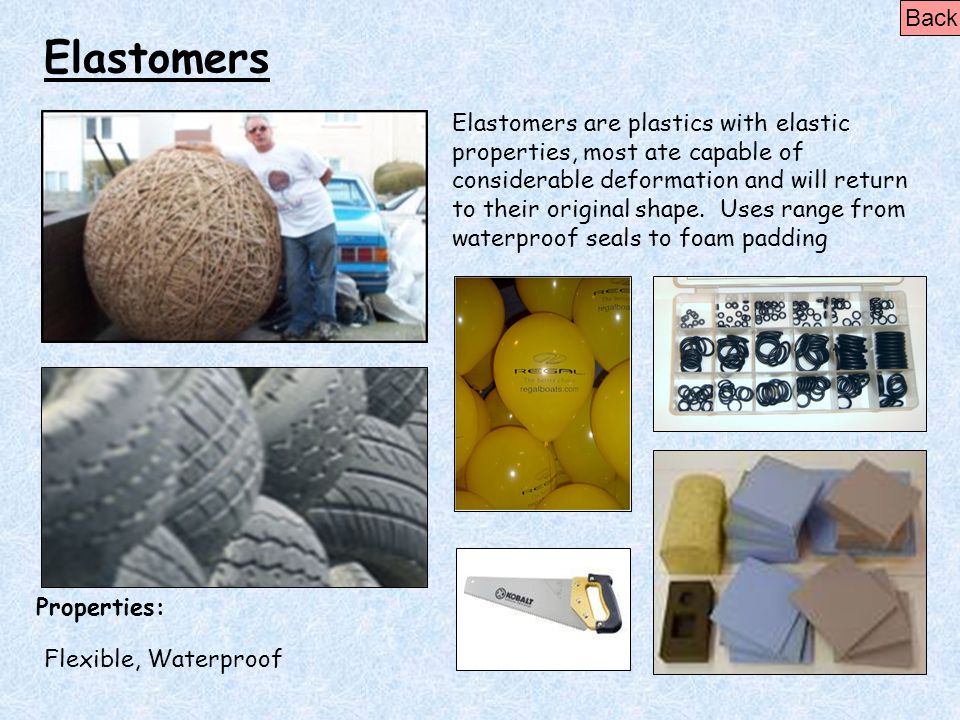 Back Elastomers.
