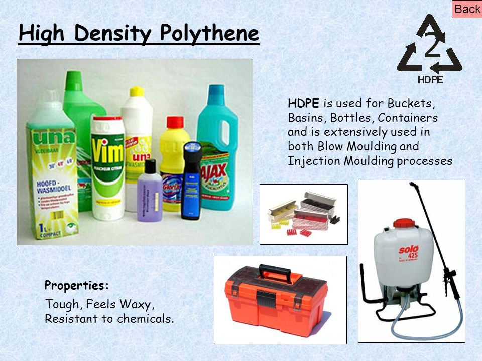 High Density Polythene