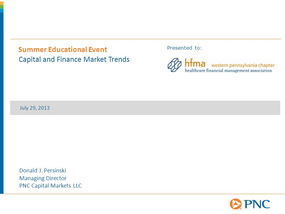 Summer Educational Event Capital and Finance Market Trends - ppt