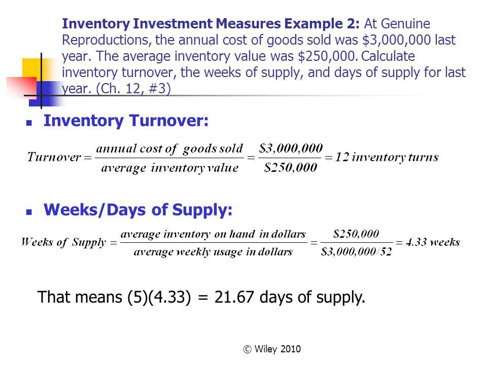 Chapter 12 – Independent Demand Inventory Management - ppt