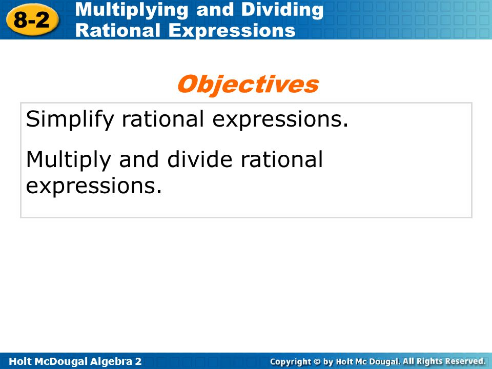 Multiplying And Dividing Rational Expressions Ppt Download