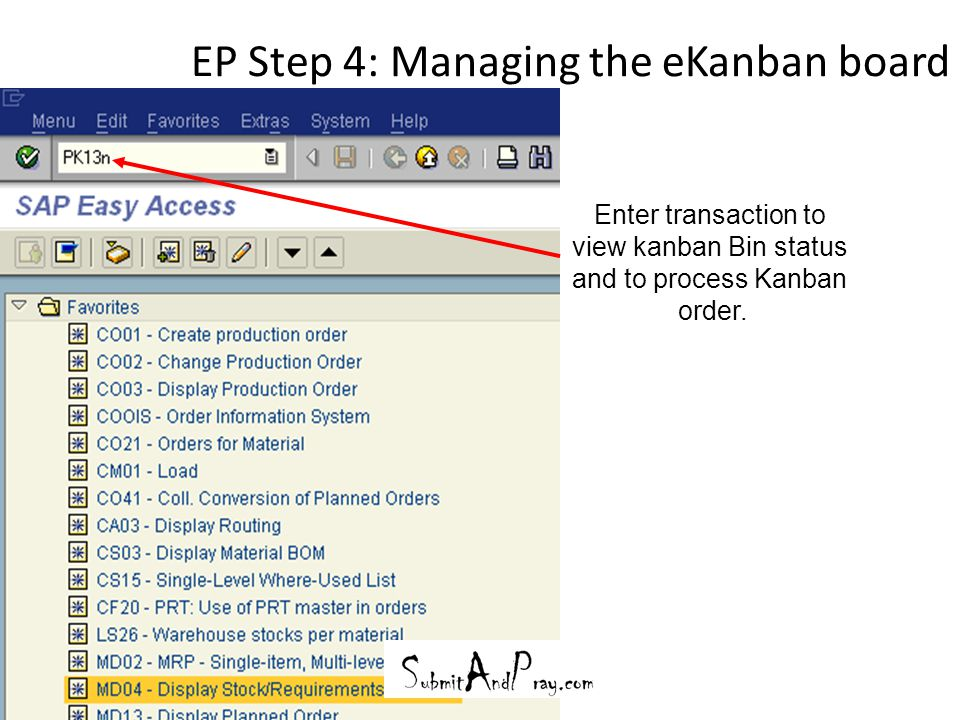 Pull and Kanban in SAP  - ppt video online download