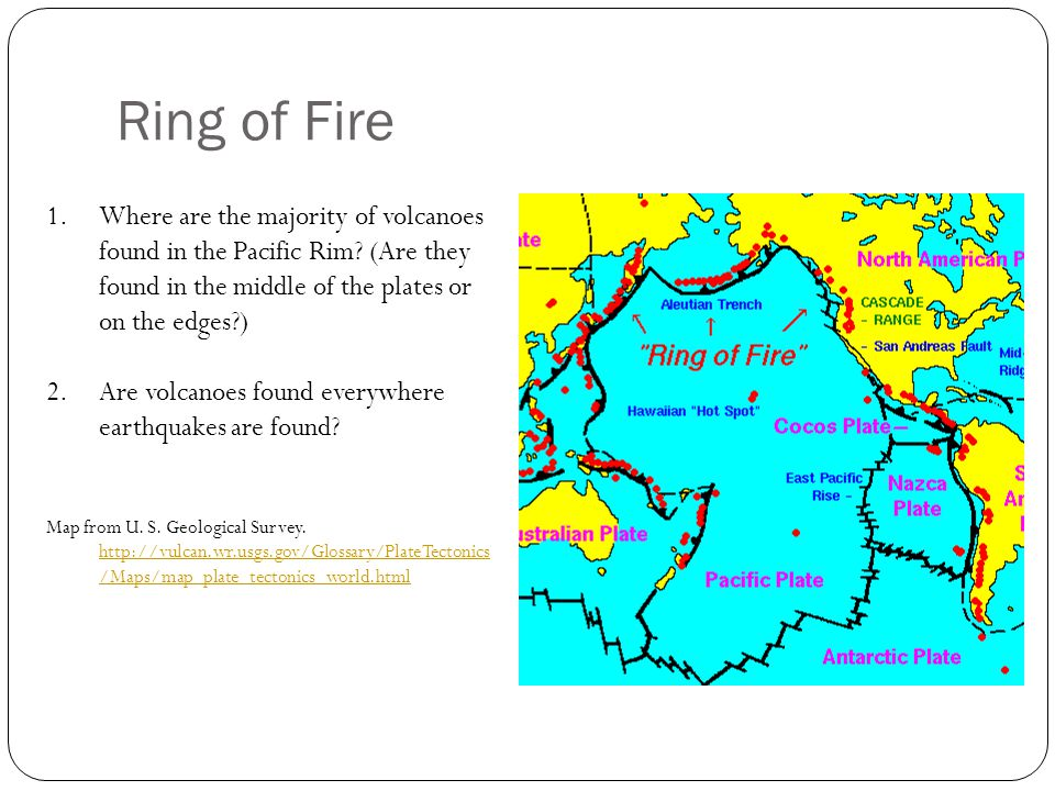 Rim Of Fire Map.Locating Plate Boundaries Of The Pacific Rim Ppt Video Online Download