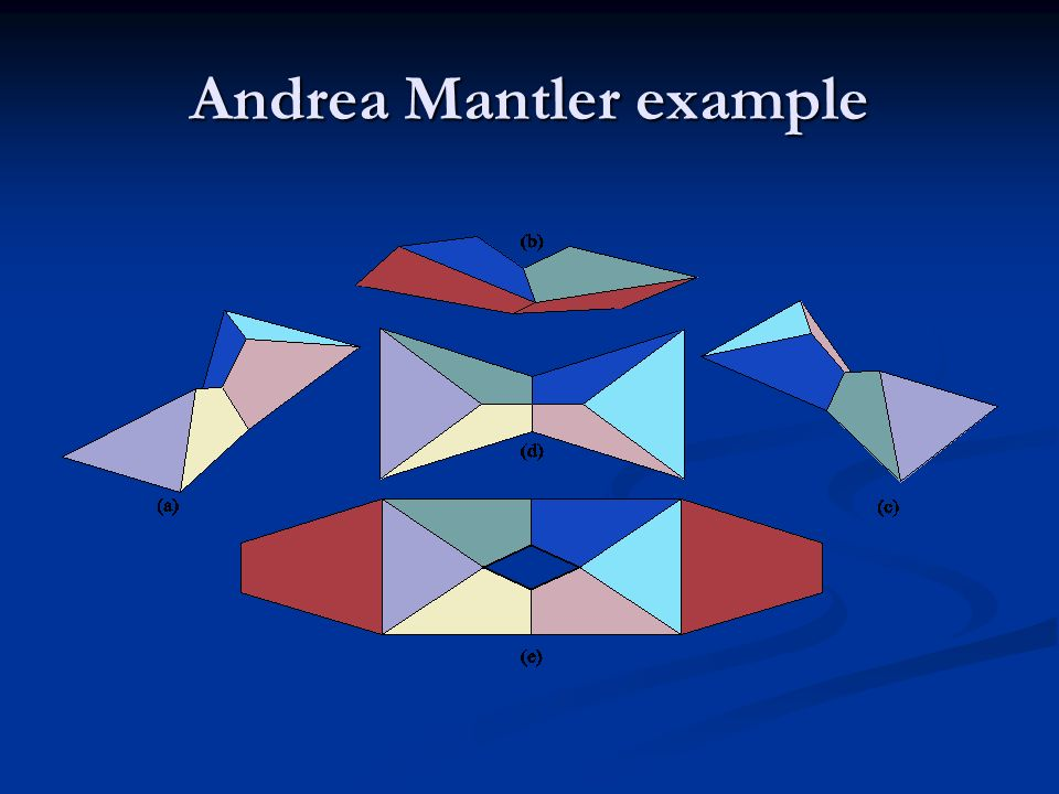 Andrea Mantler example