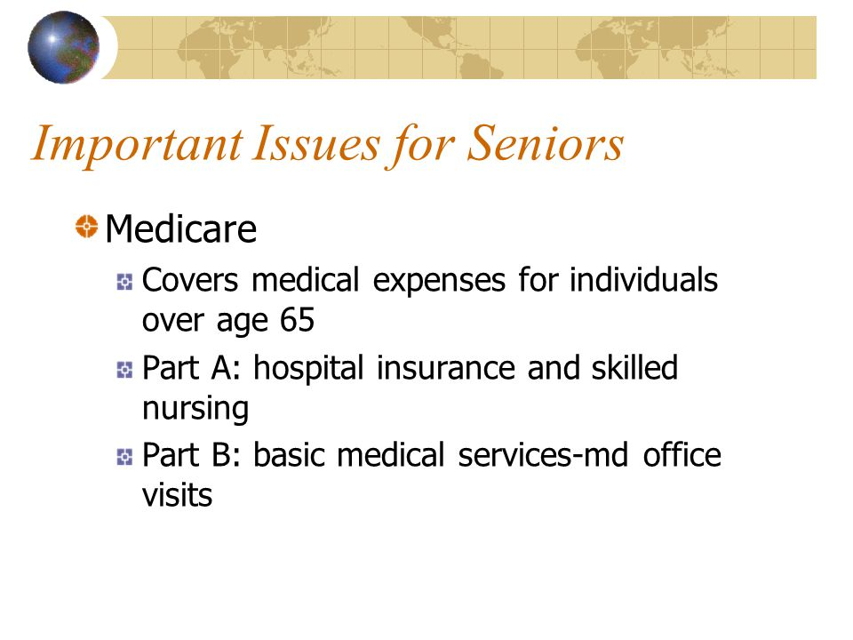 Important Issues for Seniors
