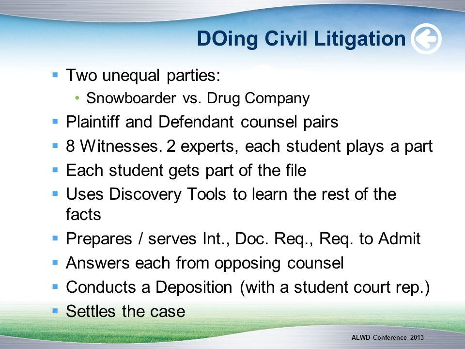 DOing Civil Litigation