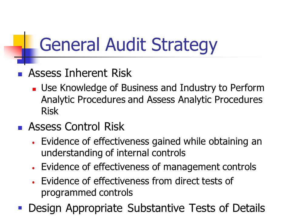 General Audit Strategy