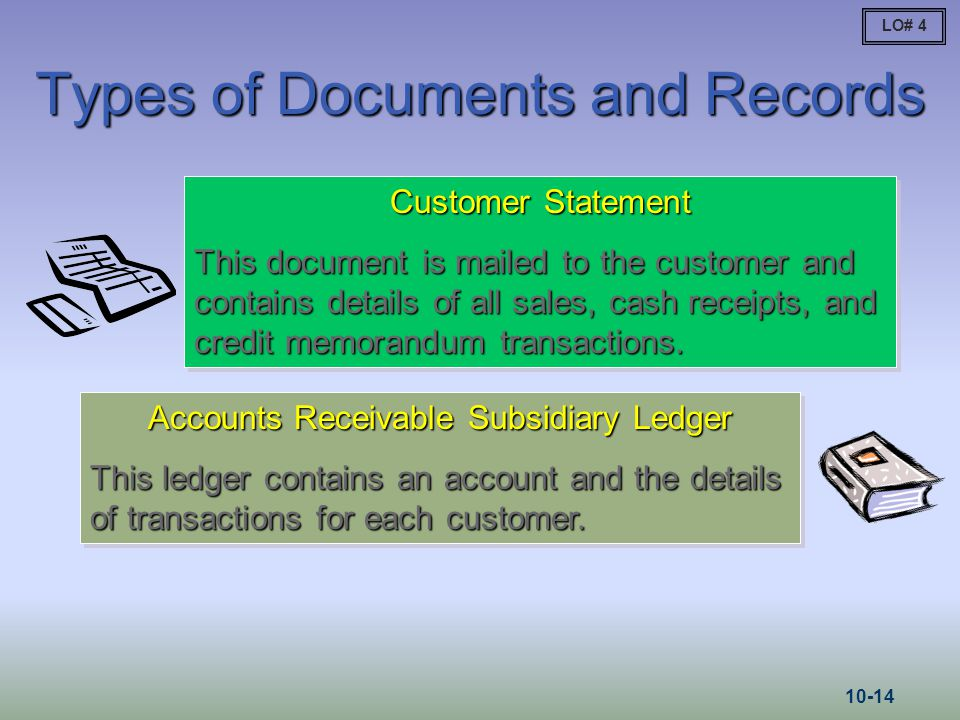 Types of Documents and Records
