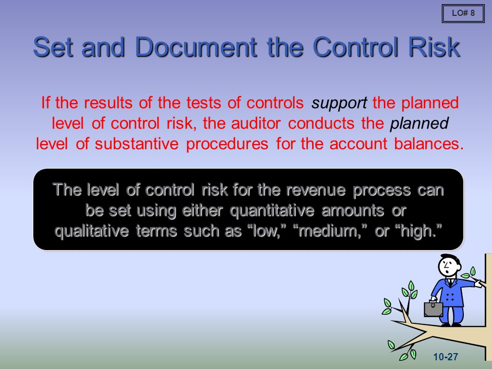 Set and Document the Control Risk