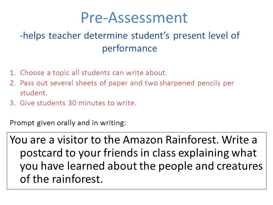 descriptive writing on a rainforest