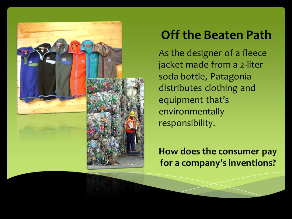 How does the consumer pay for a company's inventions