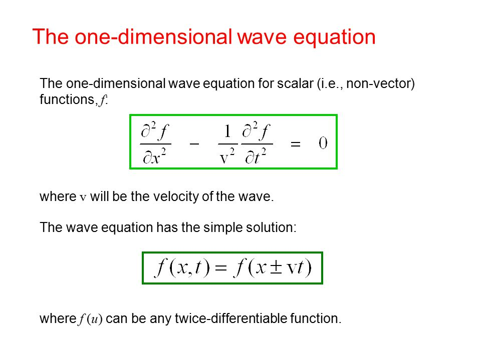 What is a wave? f(x) f(x-3) f(x-2) f(x-1) x - ppt video online download