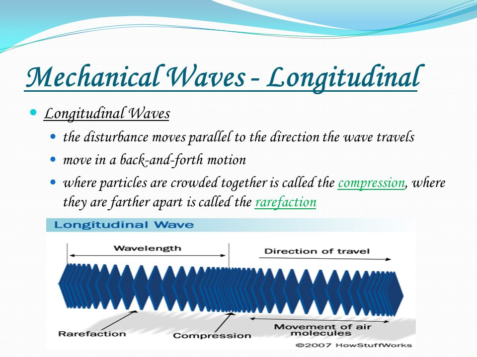 Mechanical Waves - Longitudinal