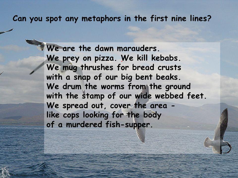 thrushes poem summary