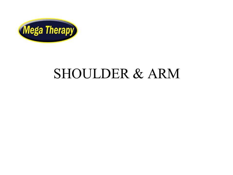 SHOULDER & ARM