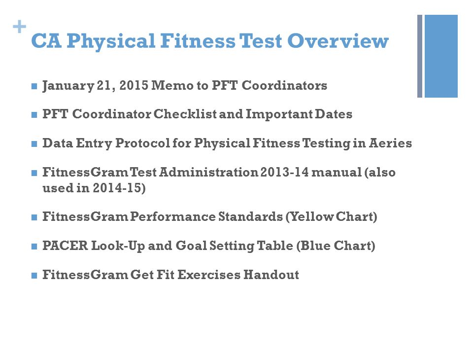 physical fitness test essay Physical fitness essay submitted by haitongwang0722 words: 1919 two types of physical fitness are most often recognized: health related fitness and skill related fitness the difference between physical fitness related to functional health and physical performance related to athletic.