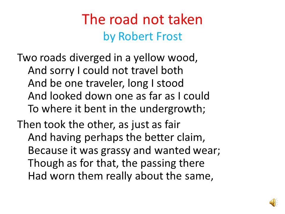 robert frost departmental analyis Robert frost was a famous american modernist poet this lesson covers the elements that make frost's poetry modernist and analyzes his most famous.