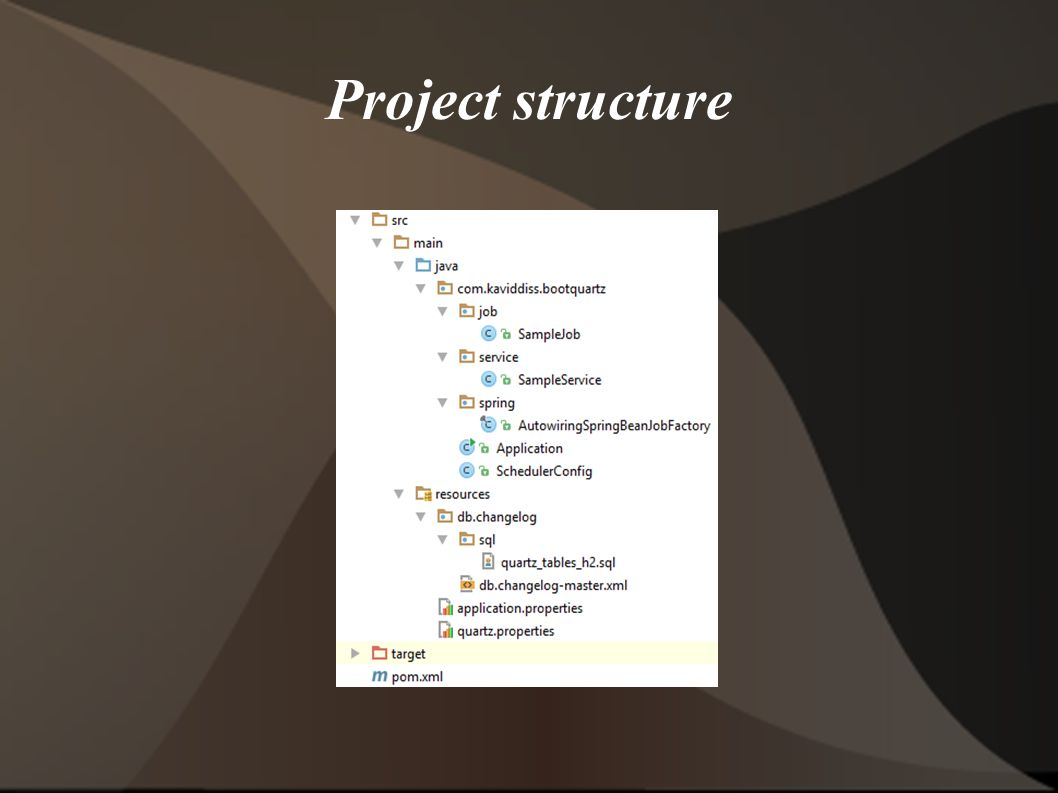 Spring Boot with Quartz - ppt download