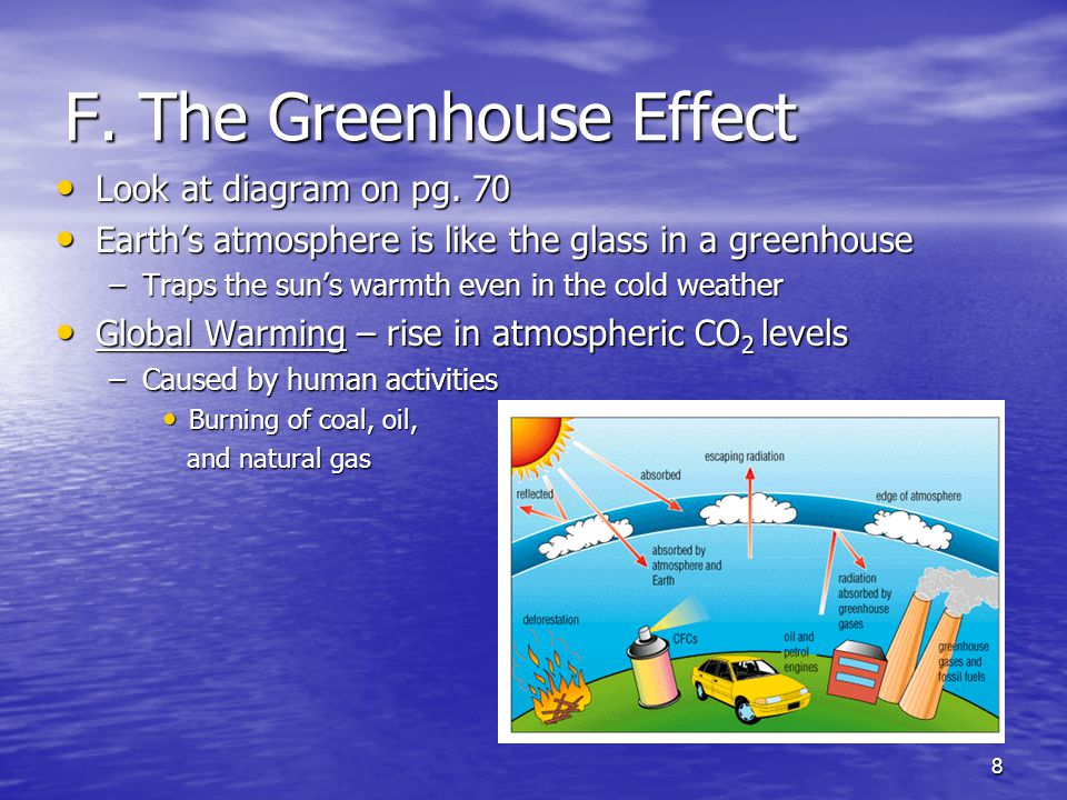 F. The Greenhouse Effect