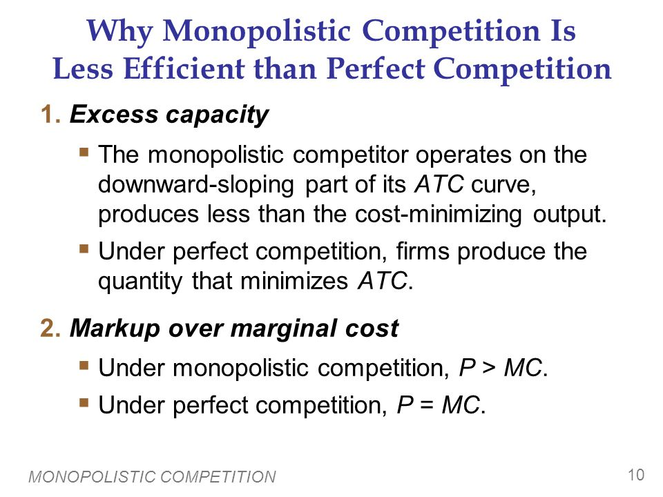 Monopolistic Competition and Welfare