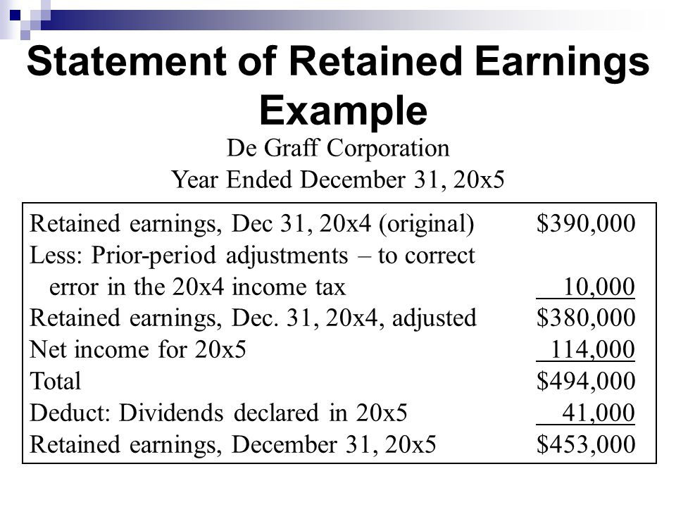 Credit Report Companies >> Retained Earnings, Treasury Stock, and the Income Statement - ppt video online download