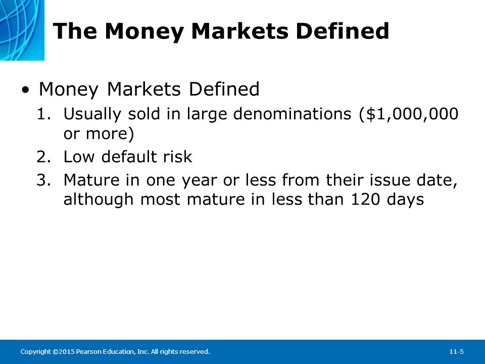 The Money Markets Defined: Why Do We Need Money Markets