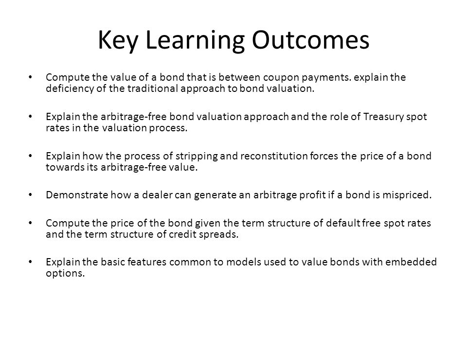 Explain The Basic Features Common To Models Used Value Bonds With Embedded Options Key Learning Outcomes
