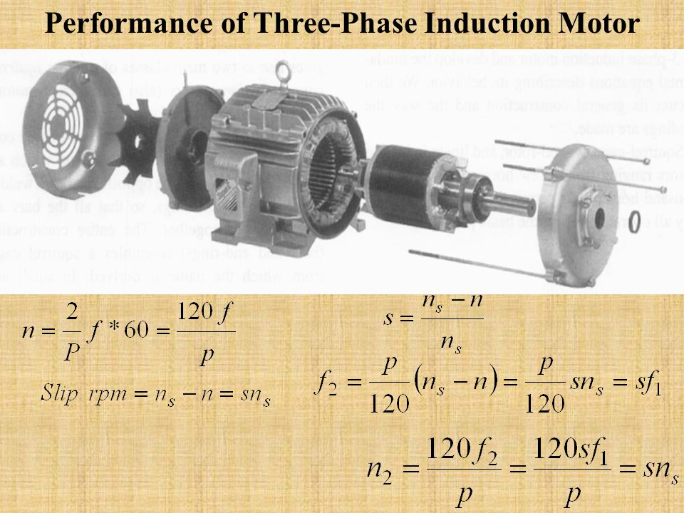 Performance of Three-Phase Induction Motor