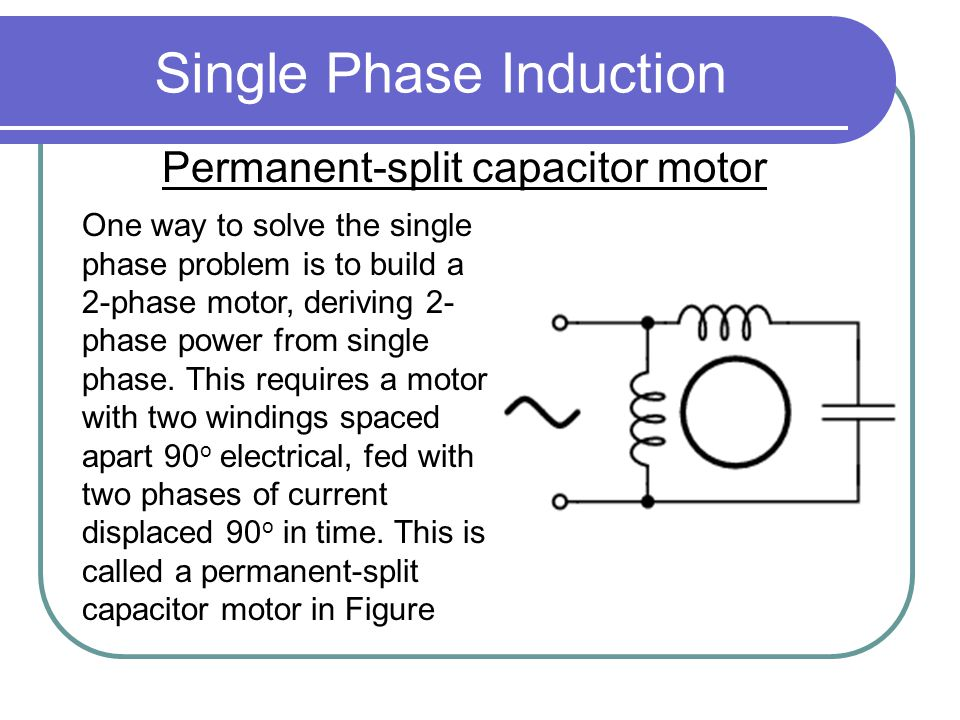 Single Phase Induction