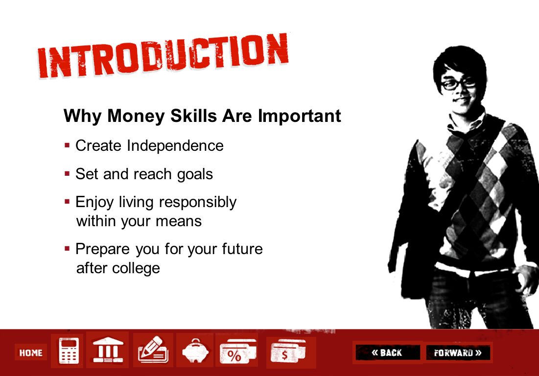 Why Money Skills Are Important