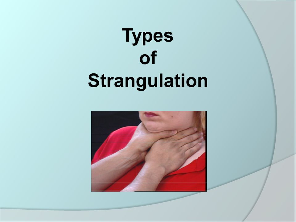 Clinical focus: strangulation and hanging injuries emergency.