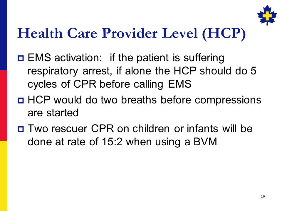 Health Care Provider Level (HCP)