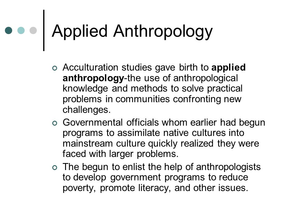 acculturation anthropology