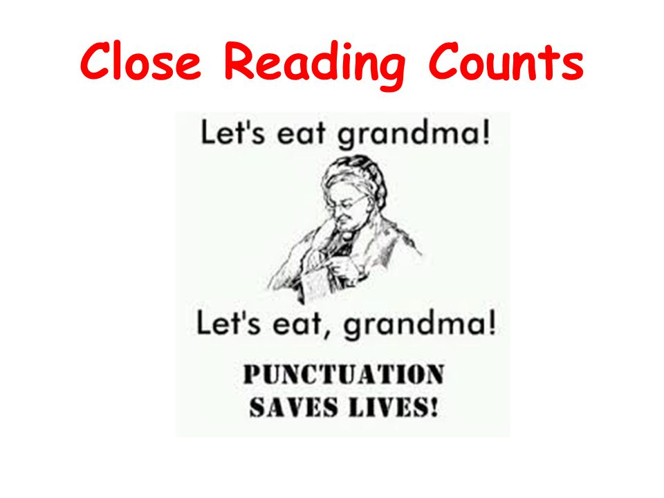 Close Reading Counts