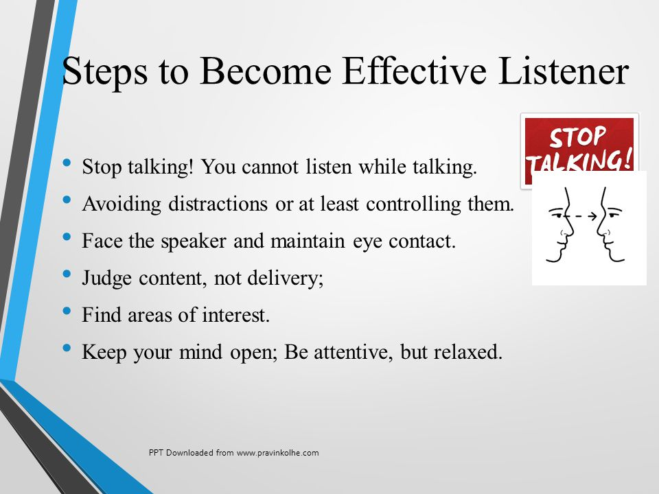 Steps to Become Effective Listener