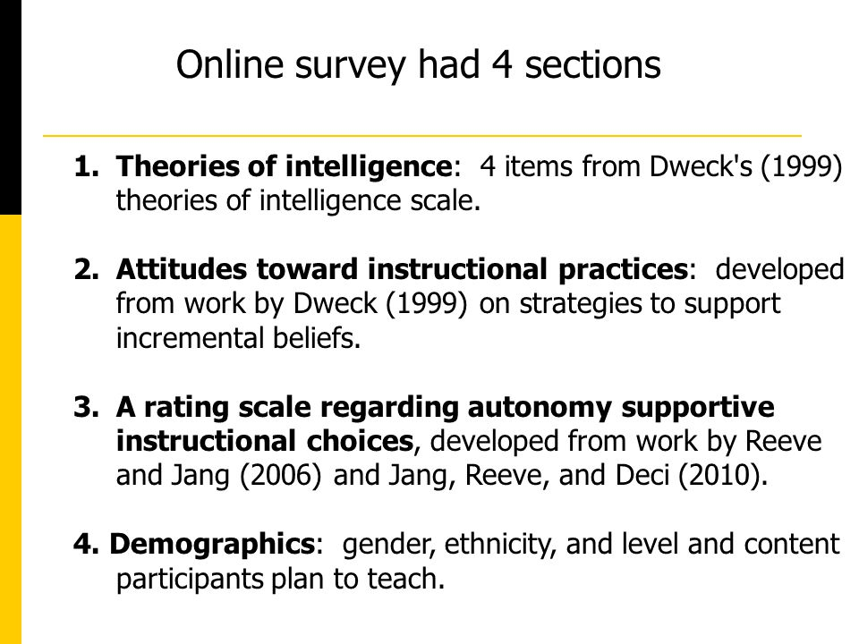 Preservice Teachers Beliefs About Intelligence And Instruction