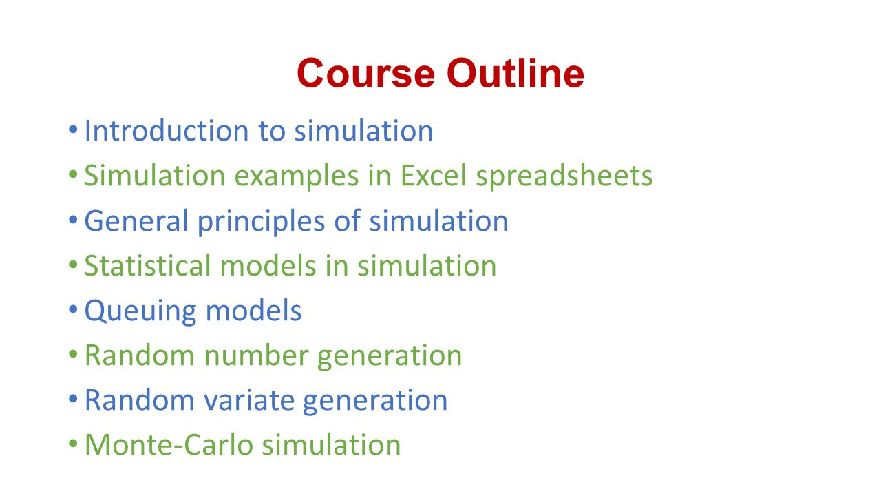 Modeling and Simulation - ppt video online download