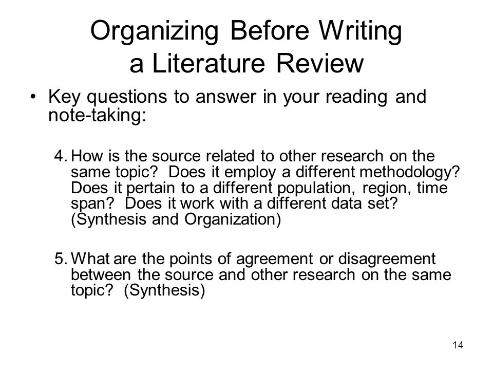 example of review of related literature in research